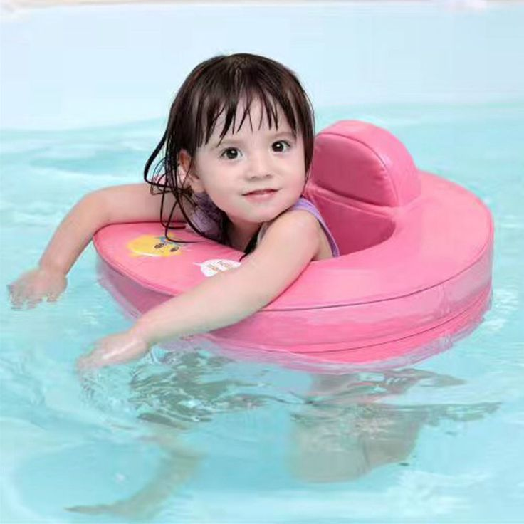 Solid no need inflatable baby kids swim ring seat float Swim Trainer Accessories for swimming Pool toy ring for baby swimtrainer