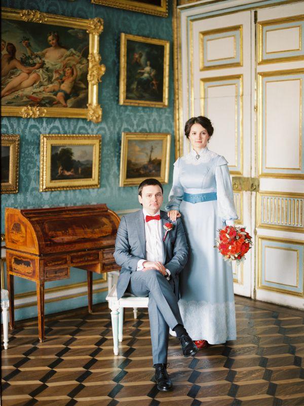 Образ жениха и невесты. Фото: Максим Колибердин