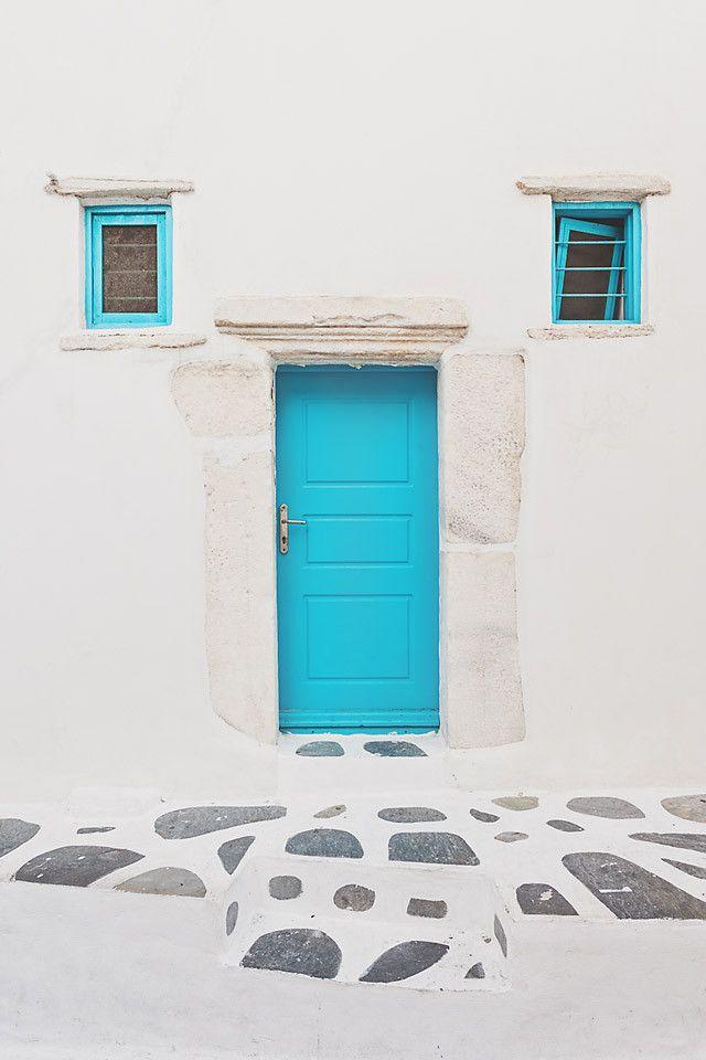 Mykonos Blue Door, Mykonos, Greece *