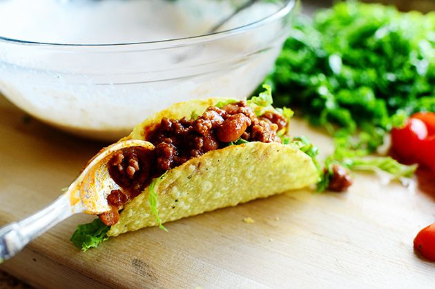 Salad Tacos by Ree Drummond / The Pioneer Woman, via Flickr