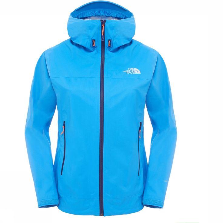 Handig op reis: Zeer lichtgewicht waterdicht jasje. De Diad Jas voor dames van The North Face