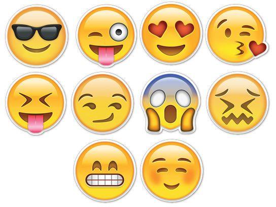 Emoji Emoticon Smiley Faces CHOOSE Iron On T-shirt Hoodie Heat Transfer Print