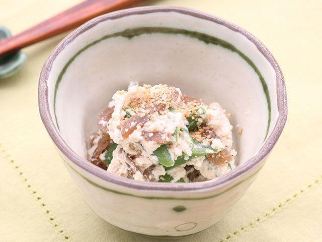 このひと手間で仕上がりが断然クリーミィ さやいんげんで作る白和えレシピ