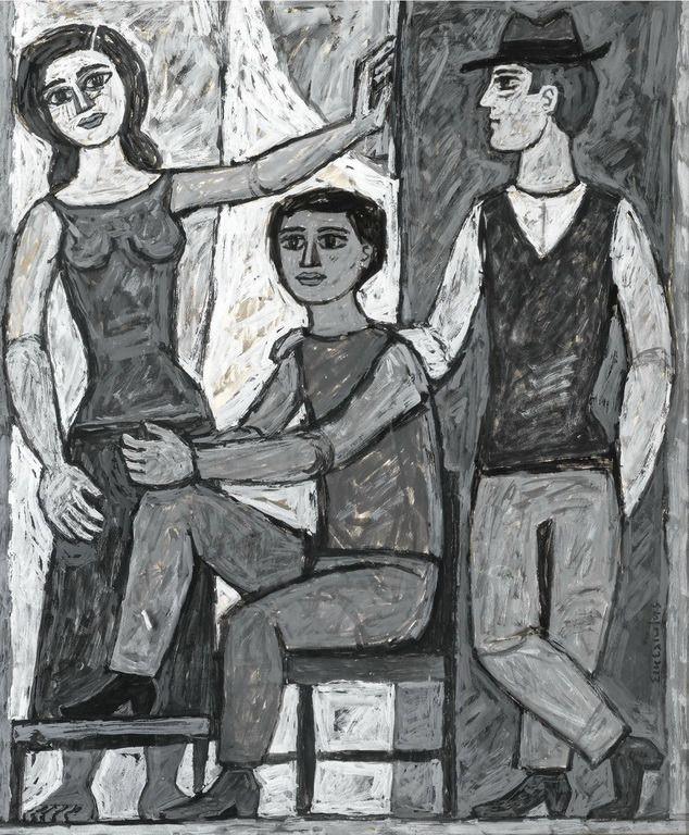 Σικελιώτης Γιώργος-THREE FIGURES
