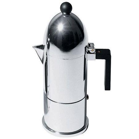 Alessi Espressokocher La Cupola, 300ml. #artvoll #Designer #AldoRossi www.artvoll.de