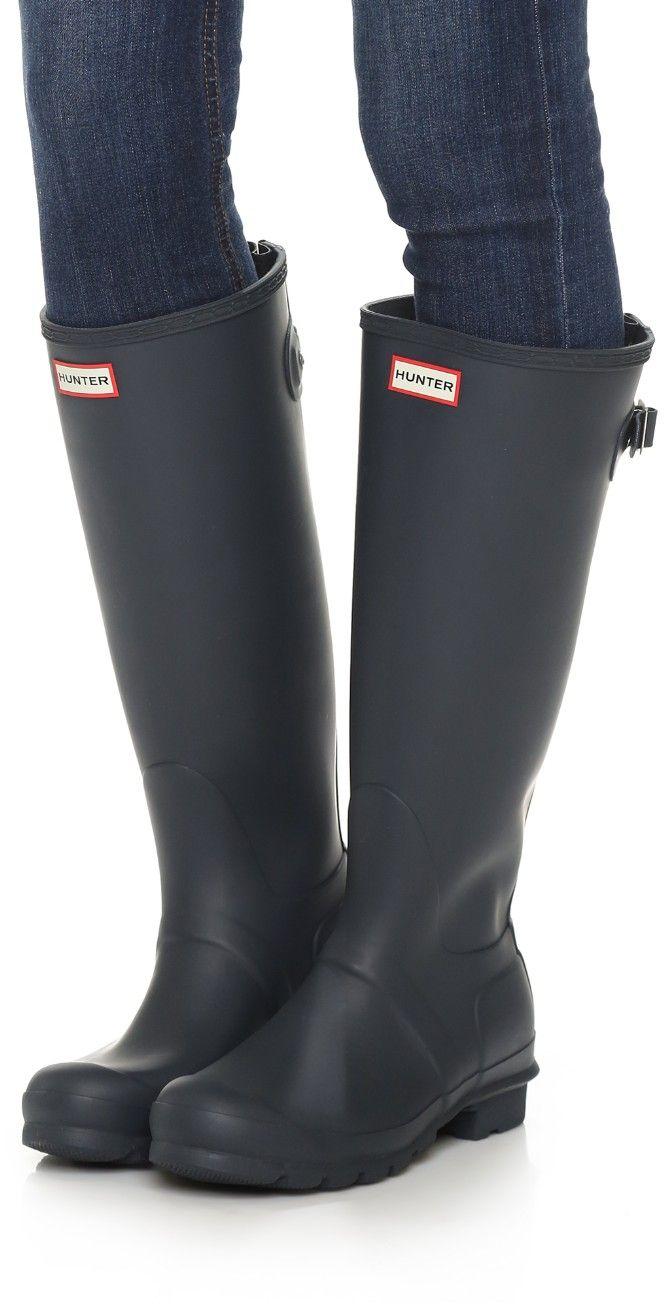 Hunter Boots Original Back Adjustable Boots | SHOPBOP