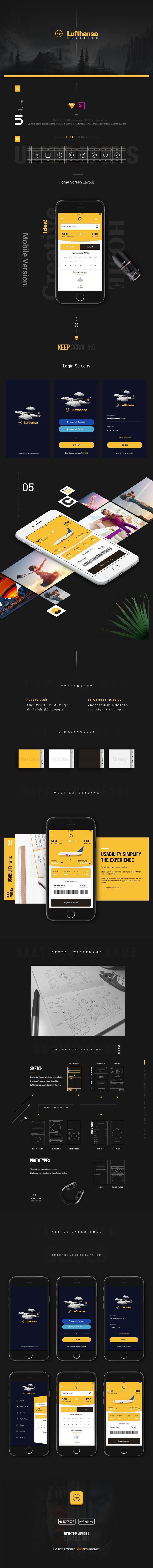 Here comes the improvised redesigned version of air ticket booking app for the world class airlines - Lufthansa. I have sprinkled some of my thoughts and creativity to enhance the interface and user experience for the target audience. Your feedback is wel…. The UX Blog podcast is also available on iTunes.