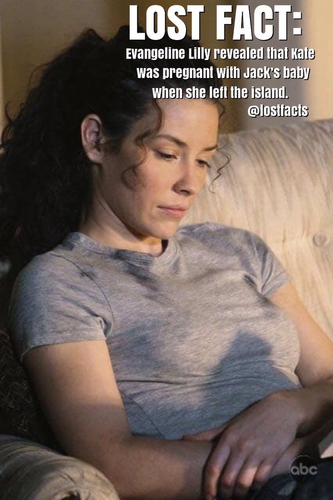 Evangeline Lilly Confirmed Kate Austen Was Pregnant With Jack
