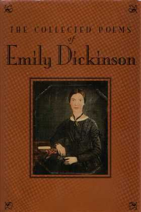 How does Emily Dickinson portray the passing of time in her poetry?