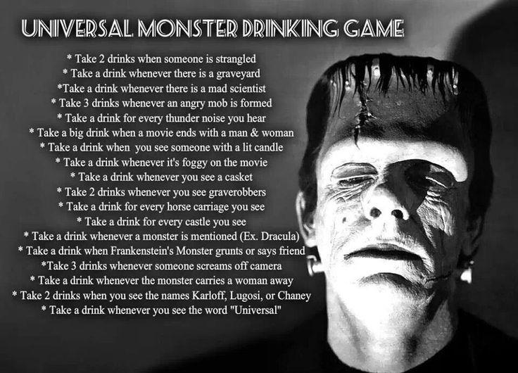 horror movie drinking game drink