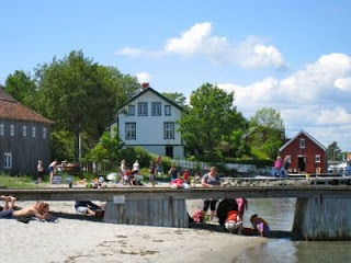 Merdø, outside Arendal is a beautiful island, once an important outport, today a summer paradise.