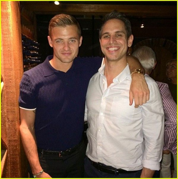 Robbie Rogers and his boyfriend, Greg Berlanti