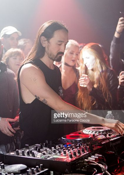 News Photo : Musician Steve Aoki performs onstage at Steve...