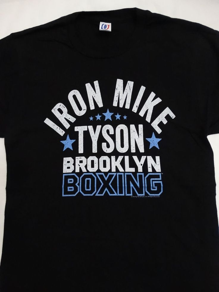 Mike Tyson Brooklyn Boxing New York Iron Mike Officially Licensed T-shirt #MikeTyson #GraphicTee