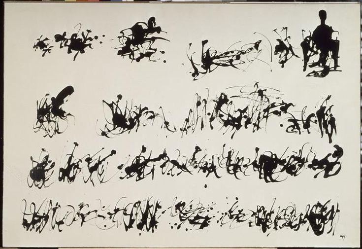 Henri Michaux | Peinture à l'encre de Chine Nø 2 | Images d'Art