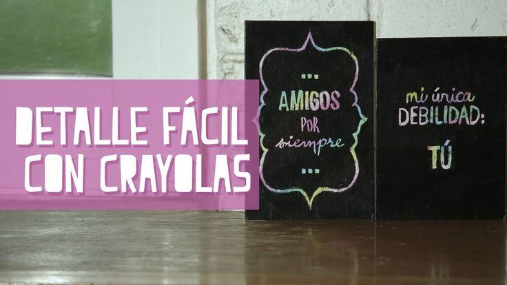 Fácil y Bonito Detalle con Crayolas | PAPER POP | IrreverenTV