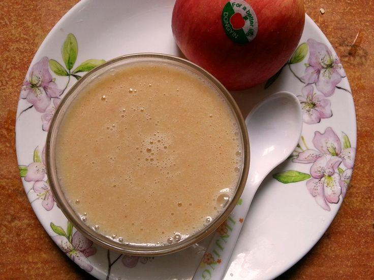 YUMMY TUMMY: Apple & Oats Porridge for Babies / Apple, Oats & Cinnamon Porridge / Oats for Babies / Homemade Oatmeal Cereal for Babies- Porr...