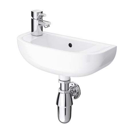 RAK Compact 45cm Slimline Basin - 1TH - Left or Right Hand Option