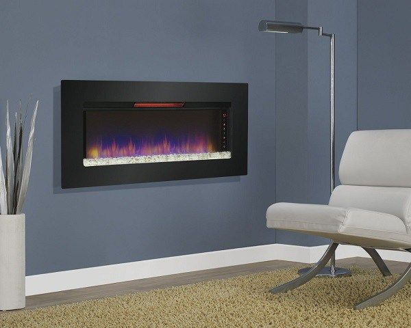 23 best images about Wall Mounted Fireplace on Pinterest
