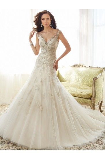 24 best Sophia Tolli Gowns images on Pinterest | Wedding frocks ...
