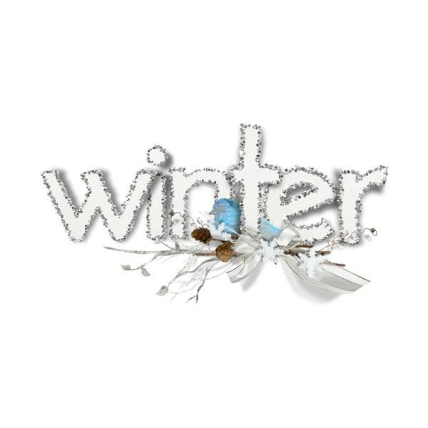 Winter ❤ liked on Polyvore featuring winter, christmas, letters, natale, text, phrase, quotes and saying
