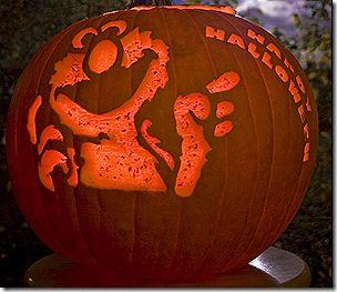 Elmo Pumpkin Carving