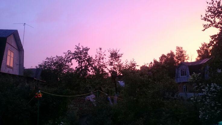 Подмосковный закат