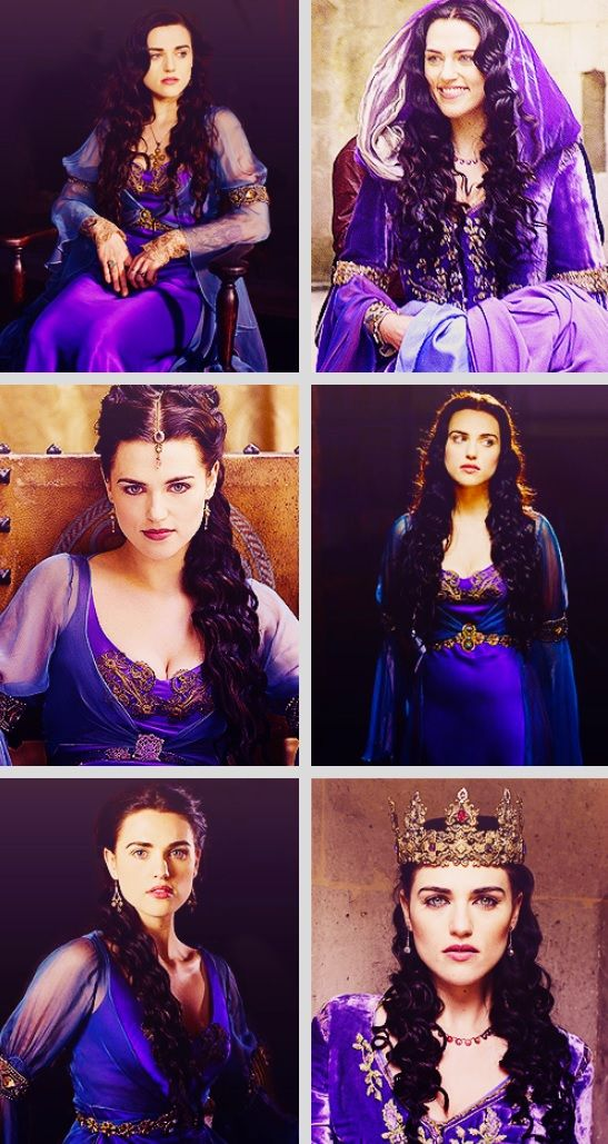 """Merlin BBC // Morgana + Purple. """"The color purple is associated with royalty, mystery, wisdom, and magic."""""""