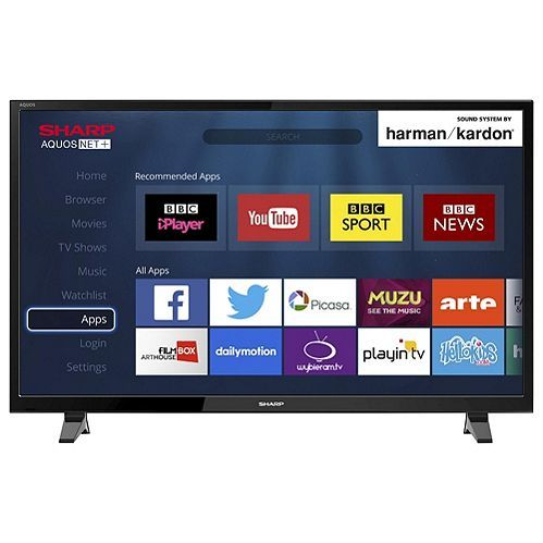 Tesco direct: Sharp LC-43CFG6001K 43 Inch Smart Full HD 1080p LED TV with Freeview HD