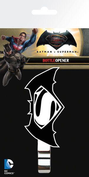 otwieracz do butelek BATMAN VS SUPERMAN - LOGO - sklep RockMetalShop.pl