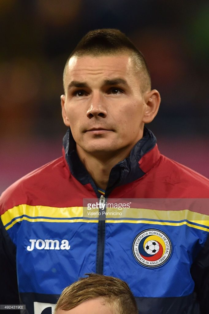 Ovidiu Hoban of Romania looks on during the UEFA EURO 2016 Qualifier between Romania and Finland on October 8, 2015 in Bucharest, Romania.