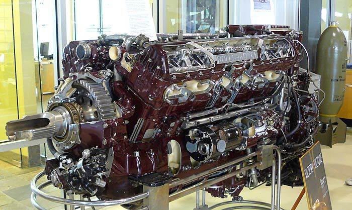Rolls Royce Merlin...Hitler's nemesis and beautiful