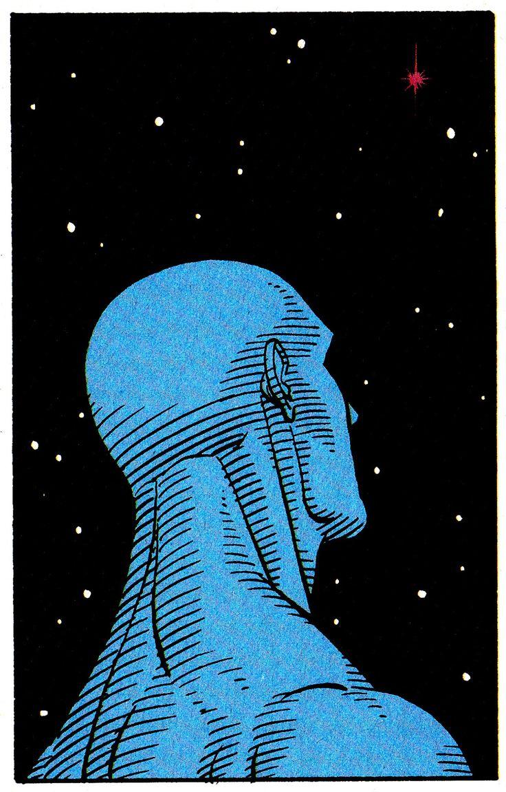 WATCHMEN #4 (Dec. 1986) Art by Dave Gibbons & John Higgins