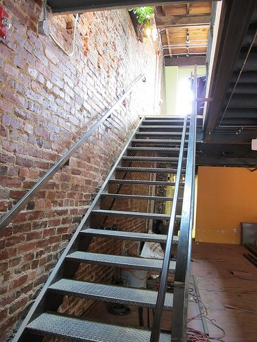 Best 25 Industrial Stairs Ideas On Pinterest