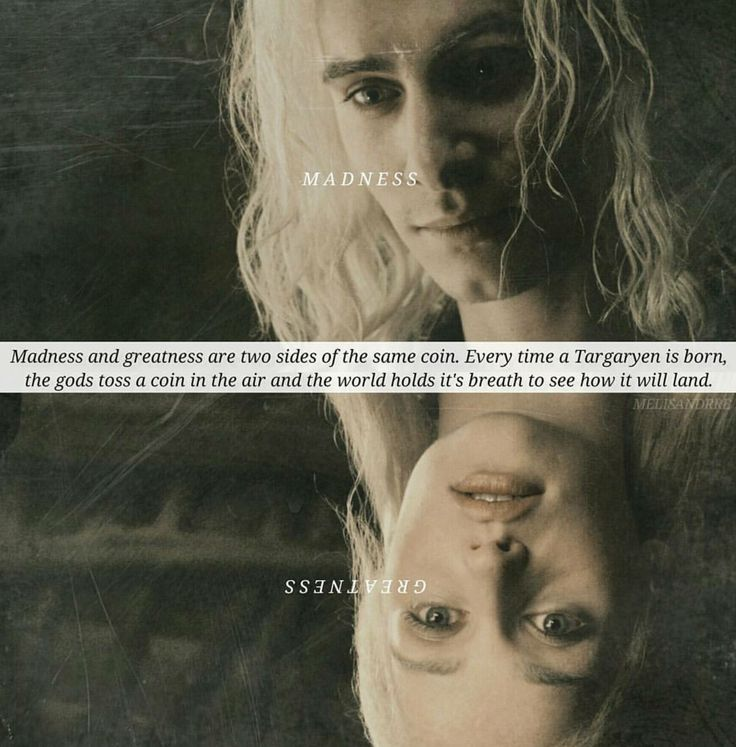 I tend to disagree..every Targaryen is born with both madness and greatness.  The bitter doom of Viserys' ancient civilization at the hand of his father is a difficult thing for a child to witness. Every father is a hero to his child, but a Targaryen father is almost fictional a god. Being banished from this high status and having your beautiful ancient civilization turn to ashes is no small thing. Viserys grew frightened and angry he was too naive to understand the ways of westerosi men. He…