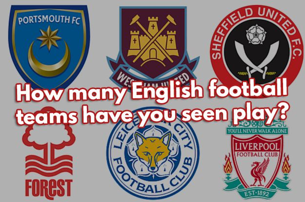 I checked 10 out of 92 on this list! How Many English Football Teams Have You Seen Play Live?
