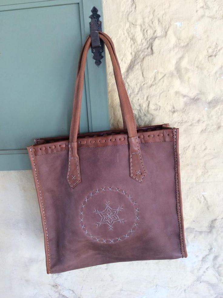Morrocan Leather Bag