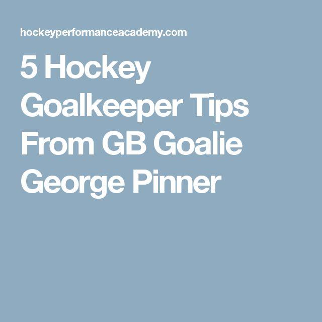 5 Hockey Goalkeeper Tips From GB Goalie George Pinner