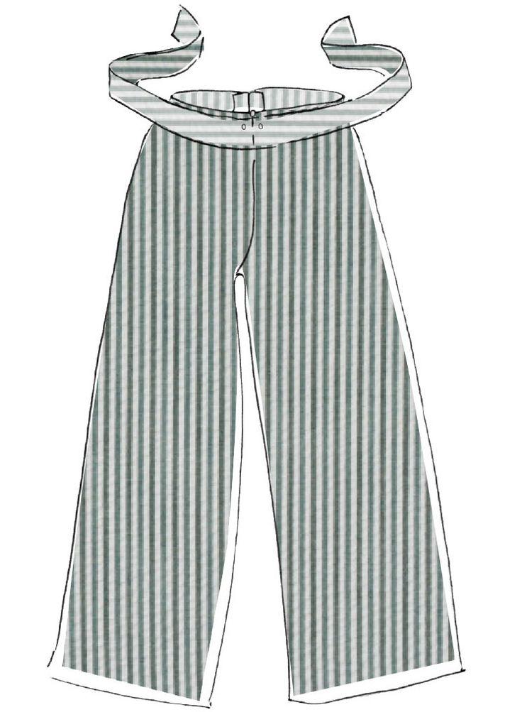 Detaillierte Nähanleitung für eine Unisex-Pyjamahose im Schlabberlook aus dem Buch