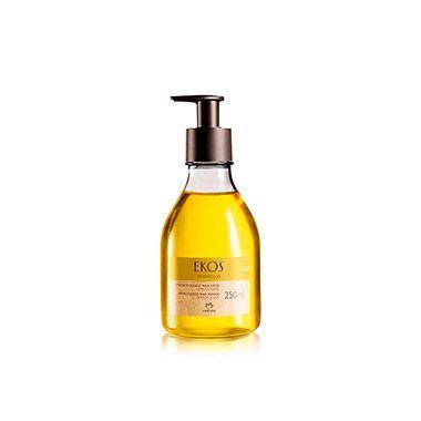 Com óleo de maracujá, este sabonete líquido limpa delicadamente a pele das mãos e sua espuma abundante deixa as mãos macias e perfumadas.
