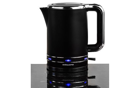 Tesco direct: Andrew James Lumiglo Fast Boil Kettle in Black £25.99