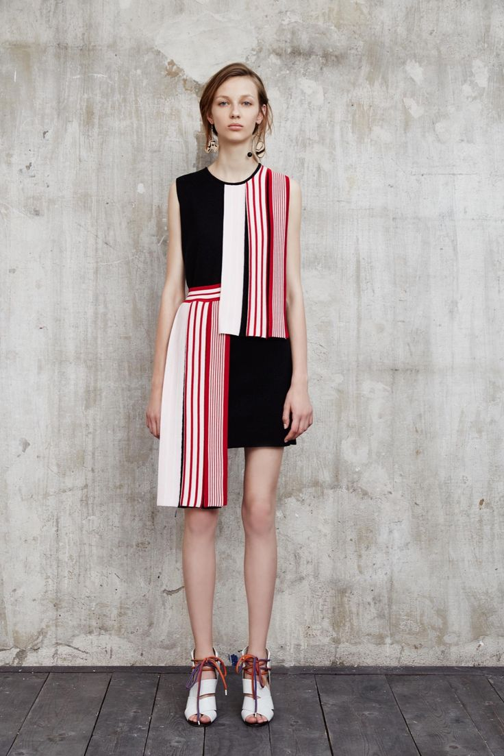 it's weird but unique. I like combine of the pattern and the colour | MSGM Resort 2016 - Collection - Gallery - Style.com