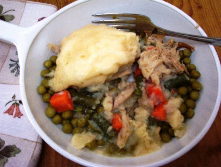 Chicken and Dumplings with Gluten-Fre Bisquick - elegantlyglutenfree.com
