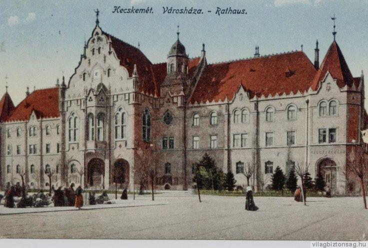 city hall, Kecskemét 1900
