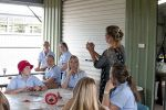 Currumbin RSL commissioned artist #LynneAdams to work with local school students on the Poppy Project #ANZACDay