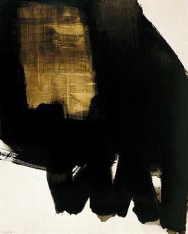 Peinture, 11 Juin 1964 By Pierre Soulages