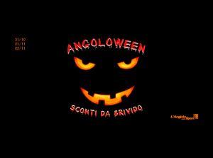 Angoloween - claim e grafica per la festa di Halloween in un punto vendita. #Angoloween #angolodellosport #angolo #halloween #marketing #claim #grafica #social #facebook #twitter #instagram #live #foto #evento
