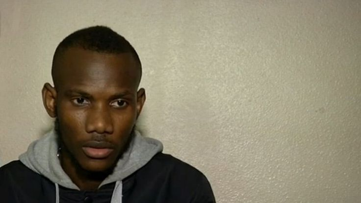 Capture d'écran de BFM TV de Lassana Bathily, après la prise d'otages de l'Hyper Cacher de la porte de Vincennes.