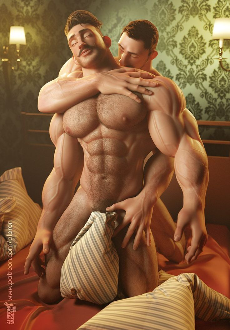 from Simon 3d art gay wrestling