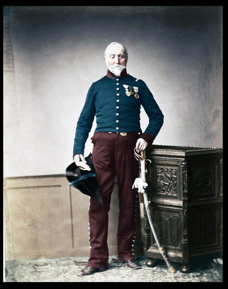 Napoleon's Grande Armée veteran - Monsieur Loria, 24th Mounted Chasseur. Regiment Chevalier of the Legion of Honour
